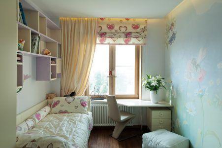 Интерьер комнаты для ребёнка в небольшом помещении